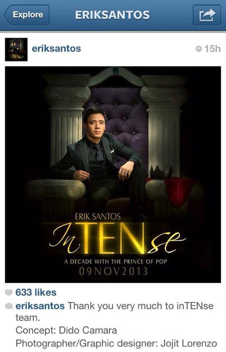 erik santos intense instagram